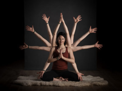 Britt Overmars - A Yoga Instructor With Balance And Flexibility