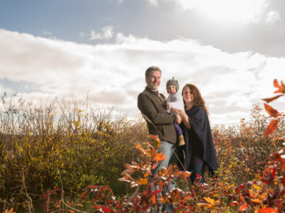 Patrick And Kimberley's Family Portrait - Antigonish Cape Breton